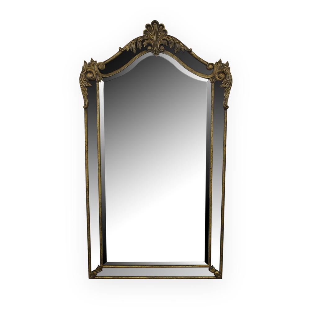 Metal Gold Antique Mirror