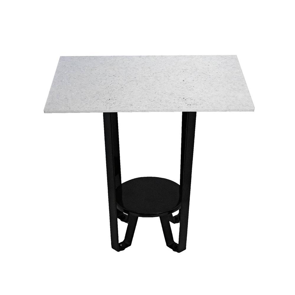 Acrylic Top End Table