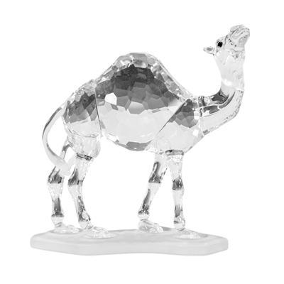 Crystal Camel Figurine