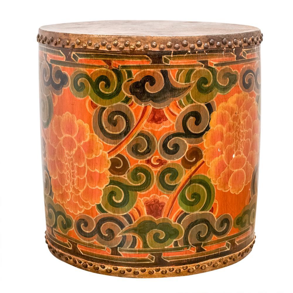 Tibet Painted Drum