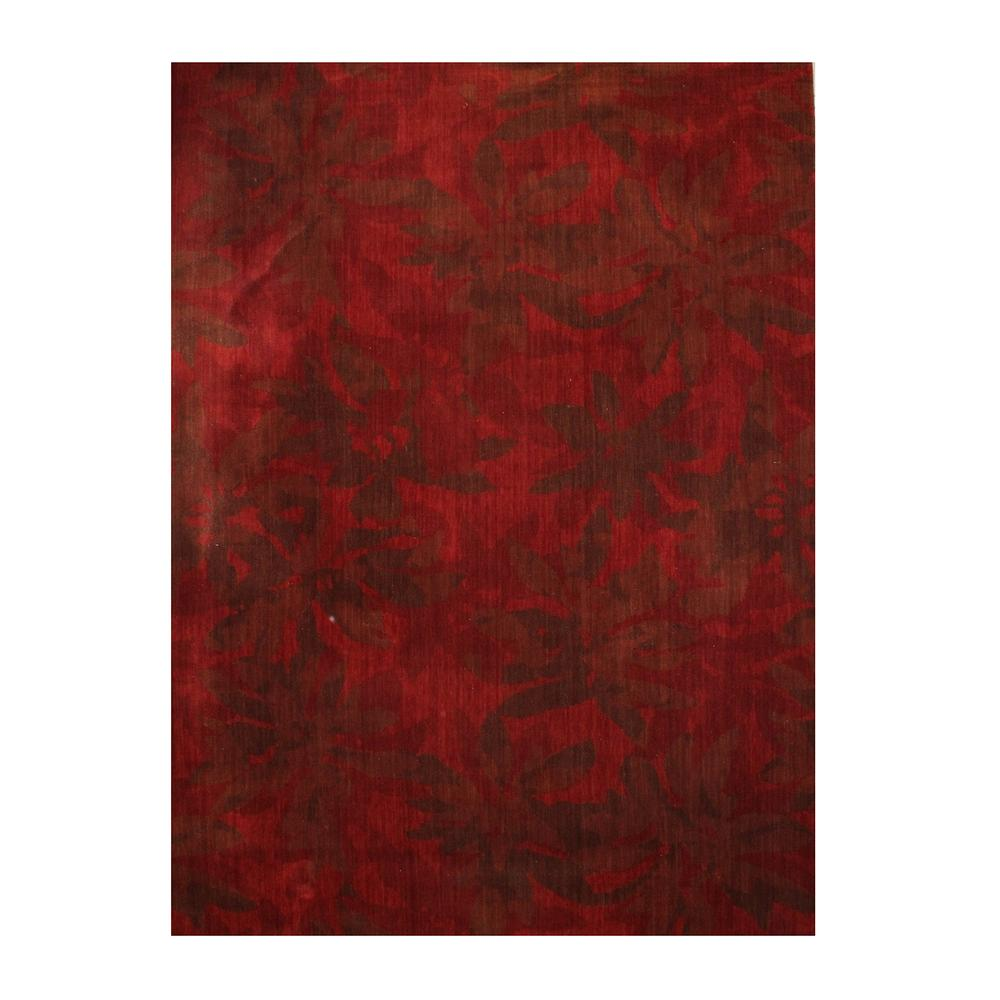 Calvin Klein Modern Red Tones Rug
