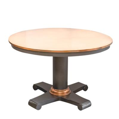Round Copper Table
