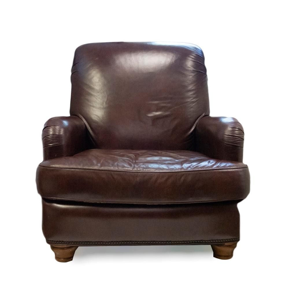 Michael Amini Leather Chair