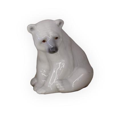 Lladro Seated Polar Bear