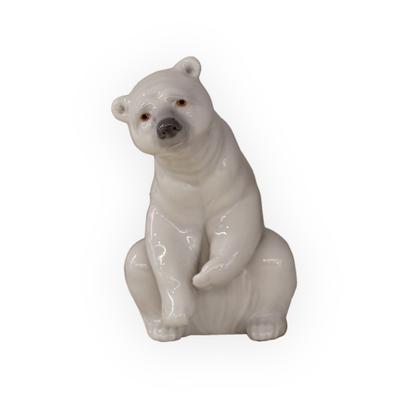 Lladro Resting Polar Bear