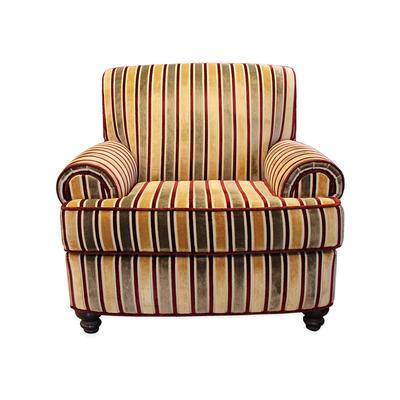 Charles Carol Custom Fabric Armchair