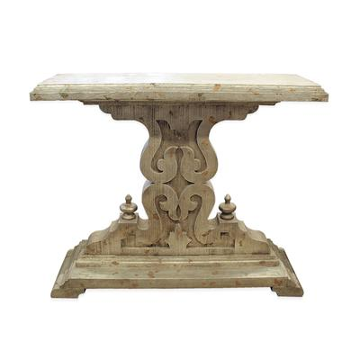 Pedestal Hallway Table