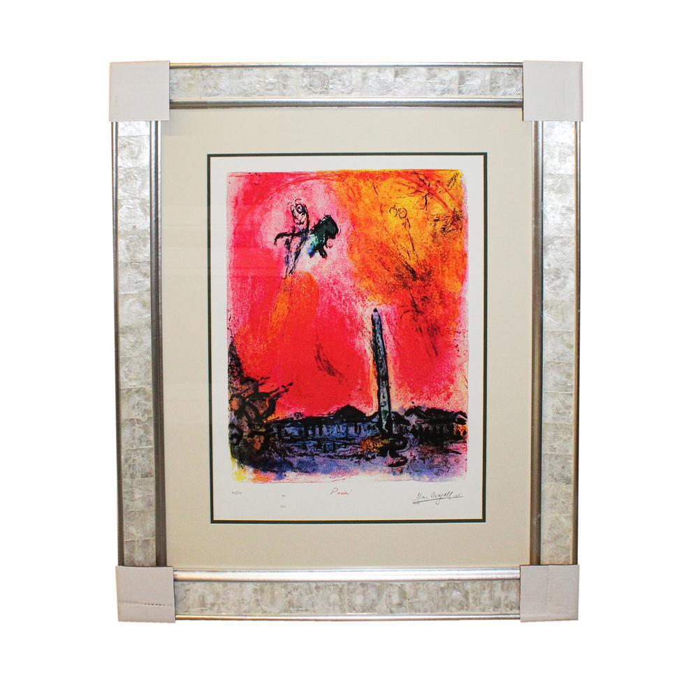 Chagall Place De Concorde Print