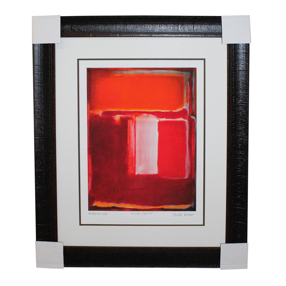 Rothko Reds And Oranges Print