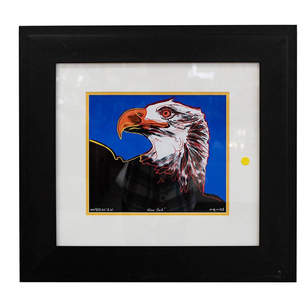 Andy Warhol Eagle Print