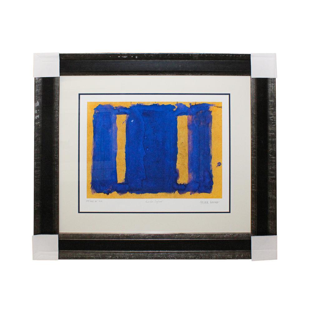 Rothko Yellow & Blue Print
