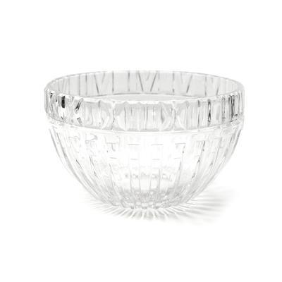 Tiffany & Co Crystal Atlas Roman Numeral Bowl
