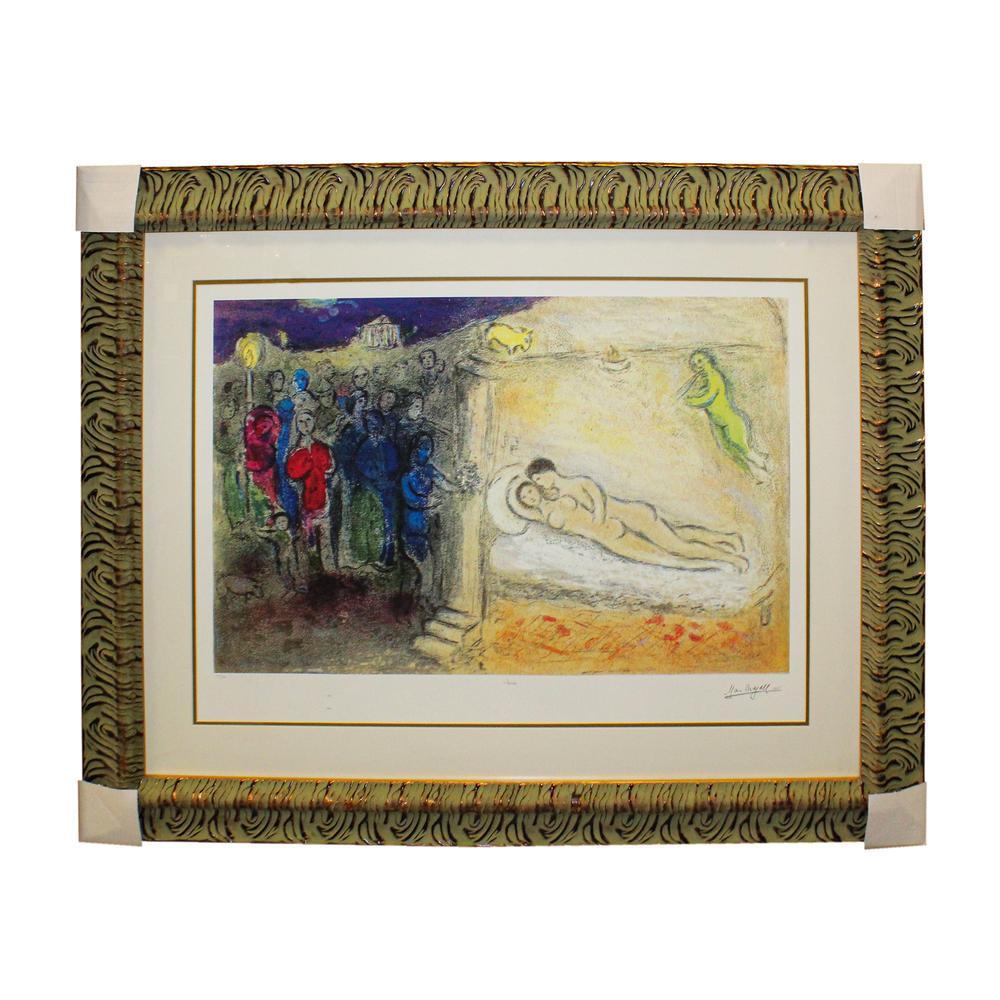 Marc Chagall Chloe Hymen Print