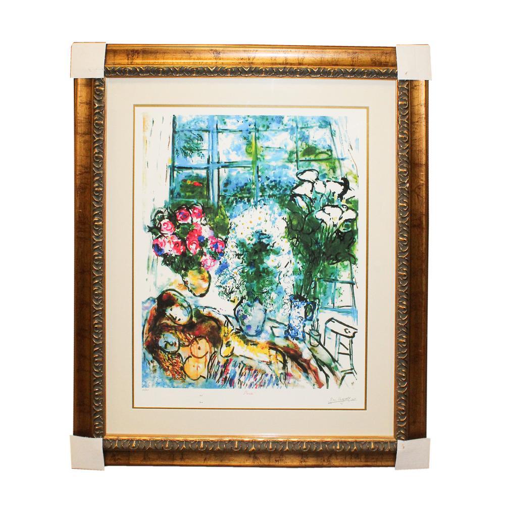 Marc Chagall White Window Print