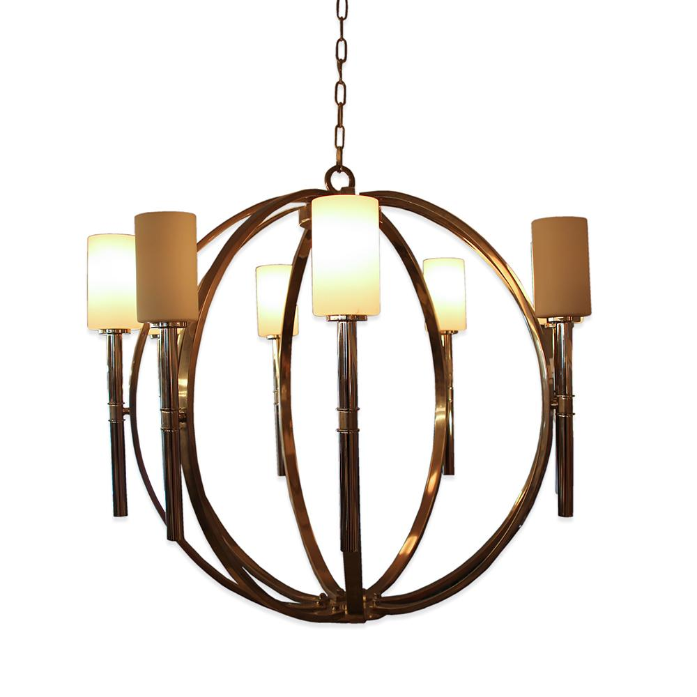 Hickley Lighting Margeaux 8 Light Globe Chandelier