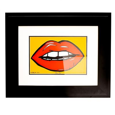 Andy Warhol 45 Lips Print