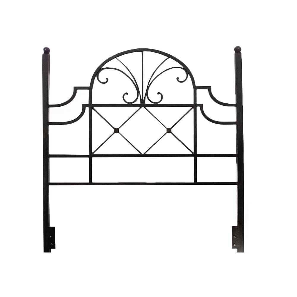 Queen Wrought Iron Headboard