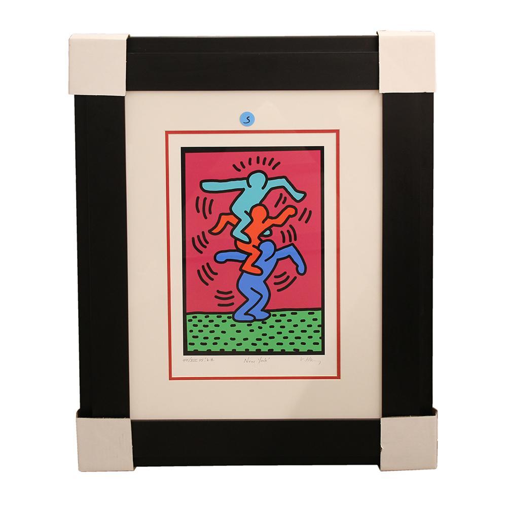 Keith Haring ' People Tree ' Print