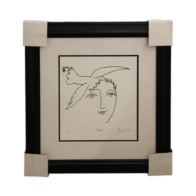 Pablo Picasso 'Bird & Face' Print