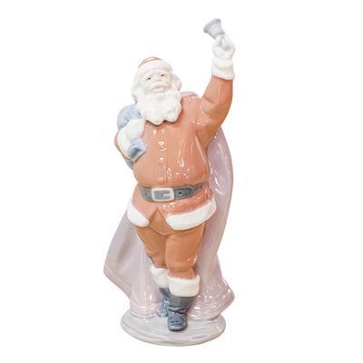 Lladro Jolly Santa Figure