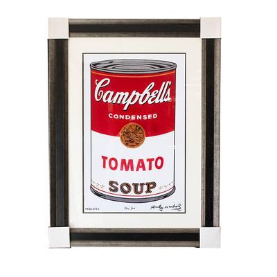 Andy Warhol 'Campbells Soup' Print
