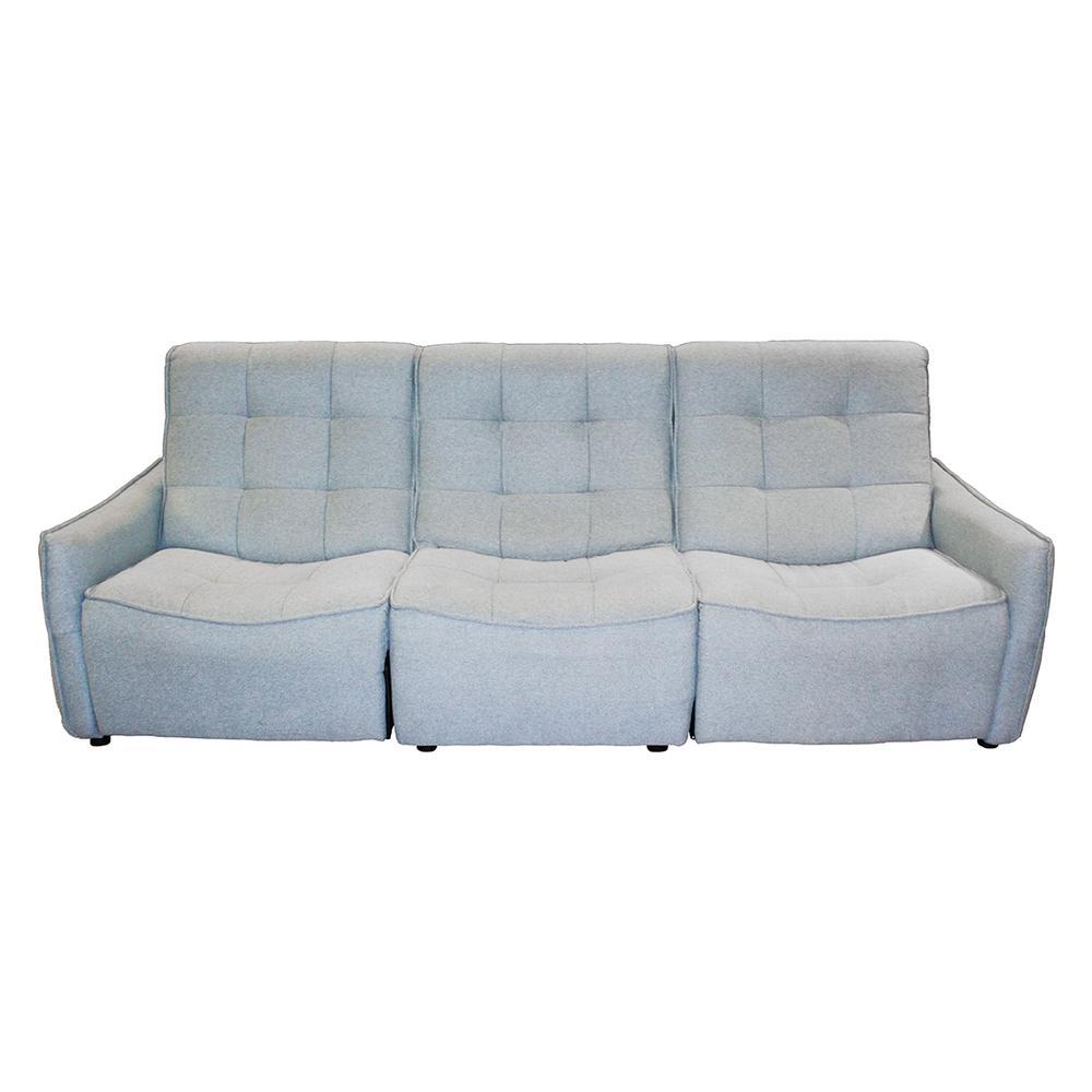 Aqua Power 3 Seater Reclining Sofa