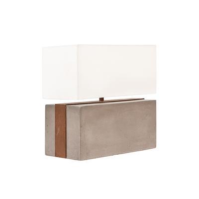 Dovetail Concrete Baron Lamp