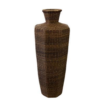 Wire Framed Basket Vase