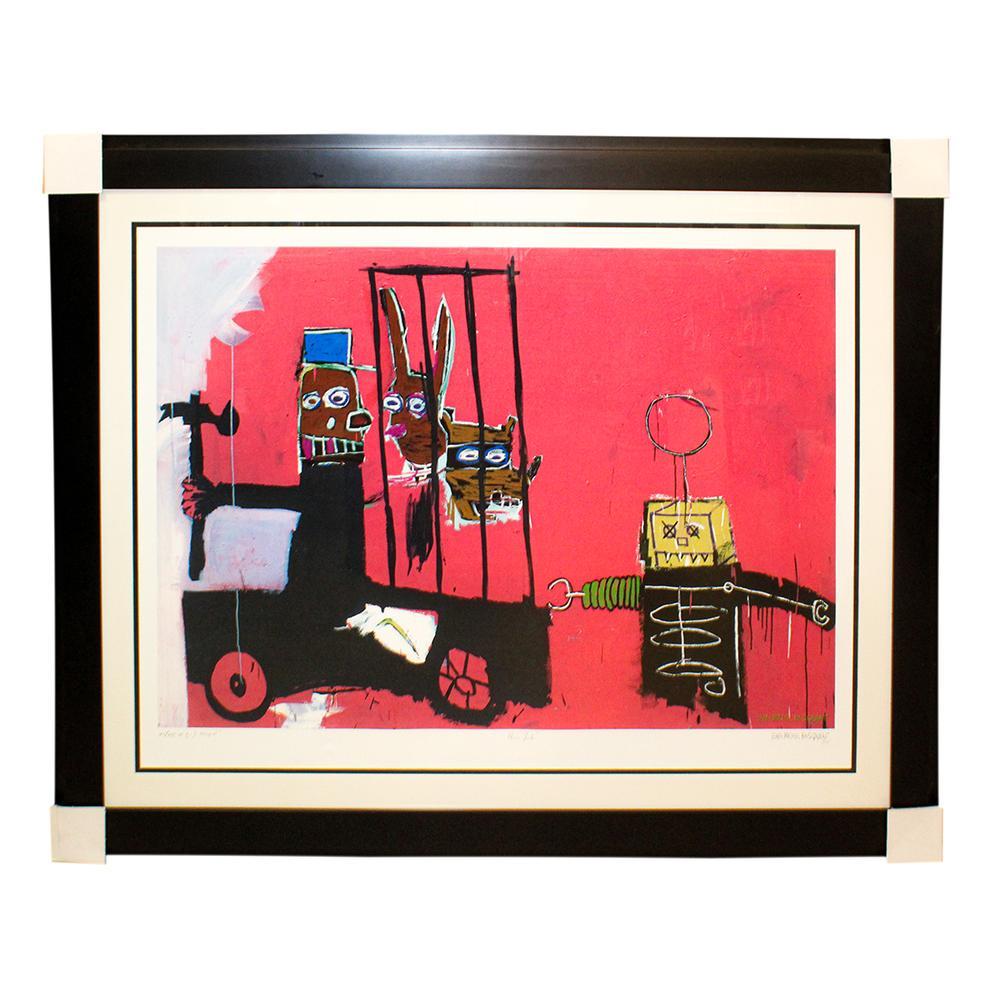 Jean- Michel Basquiat Authentic Print