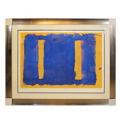 Mark Rothko Yellow And Blue Print