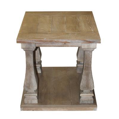 Ashley Signature Washed Wood End Table