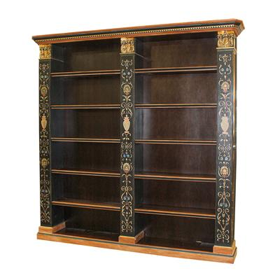 Ornate Hand Painted Bookshelf