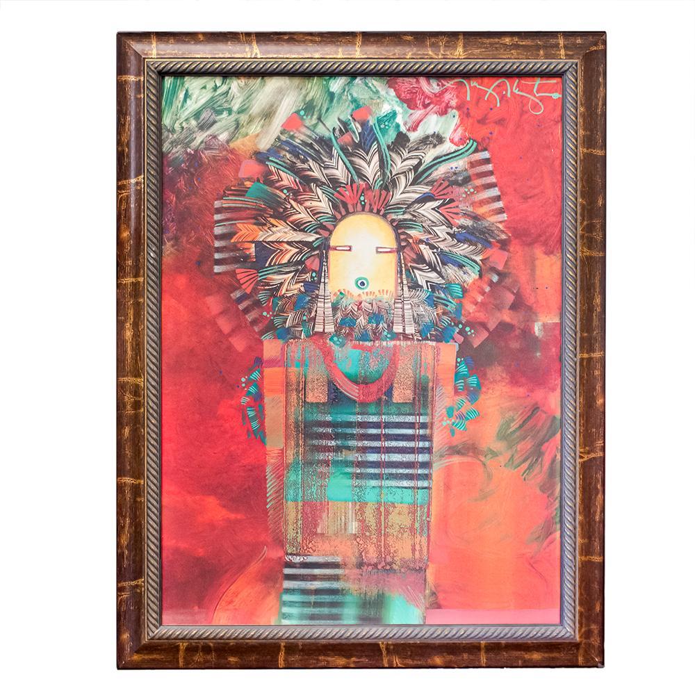 Tony Abetya Kachina Painting