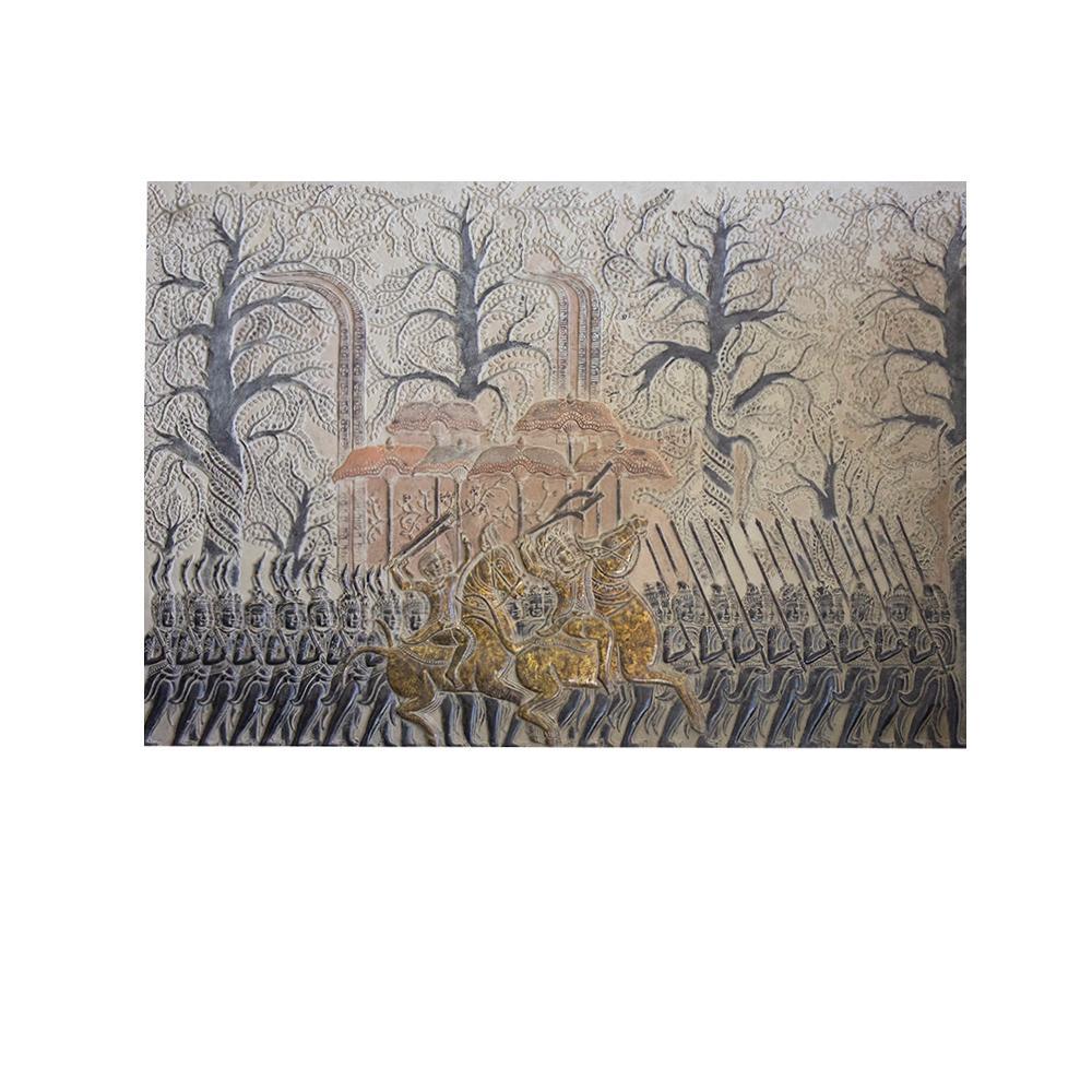 Cambodian Fragment Original Art Piece